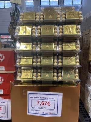Ferrero Rocher 30 ud Más ofertas Confisur