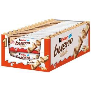 Kinder Bueno White (Pack 30 x 2 unidades)