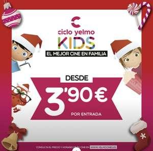 Ciclo de cine familiar en Yelmo Cines por 3,90€