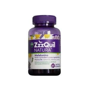 ZzzQuil Natura Según unidad mitad de precio Melatonina 60 Gominolas dormir