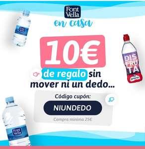 Cupón de 10€ de descuento directo con compra mínima de 25€ +Envío gratis y sin límite de peso + Juego de mesa Scrabble Gratis