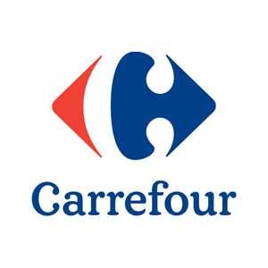 15% acumulable en cheque ahorro del club Carrefour en alimentación, bebidas, perfumería.