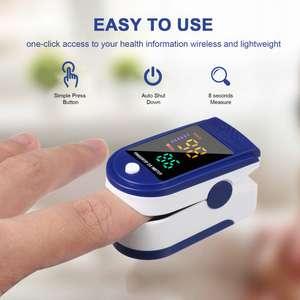 Pulsómetro y oxímetro de dedo por 3,12€
