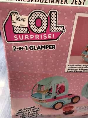Lol surprise 2 en 1 Glamper visto en juguettos de Sabadell