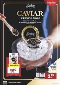 Lidl - Caviar de esturión 15 gr a precio ridículo