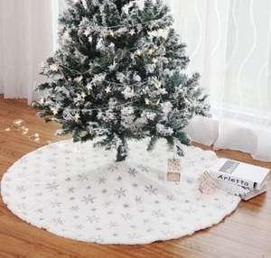 falda de árbol de Navidad 35,4 pulgadas