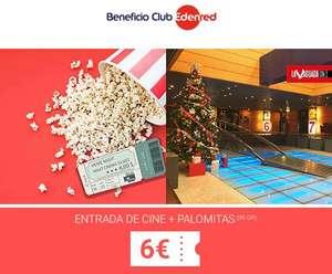 Entrada de cine + Palomitas por 6€ en La Vaguada (Madrid)