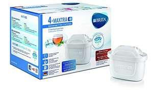 Pack 4 filtros para BRITA MAXTRA Cartuchos filtrantes compatibles con jarras BRITA