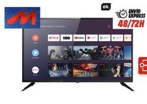 Televisión LED OK ODL, resolución HD+ y 32''