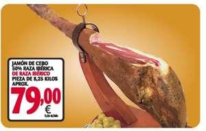 Jamón ibérico de cebo 8,25 kg
