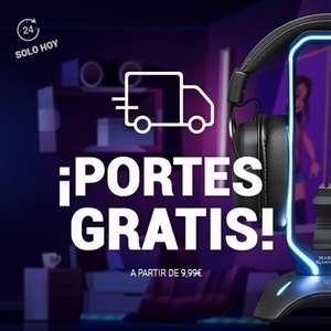 PORTES GRATIS EN MARS GAMING EN TODAS LAS COMPRAS A PARTIR DE 9,99€