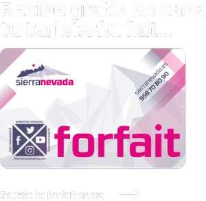 Promociones para forfait SIERRA NEVADA