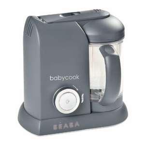 BEABA Procesador de alimentos Babycook ® Solo 4 - en - 1 gris oscuro