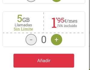 Lowi: líneas adicionales a 1,95€