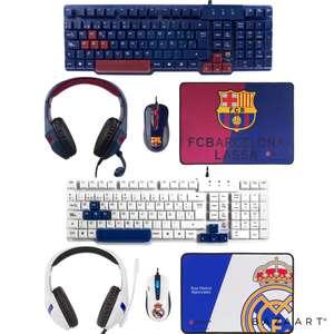 COMBO FCB / RCM y regalo - MarsGamingTeclado, Alfombrilla, Raton, Headset