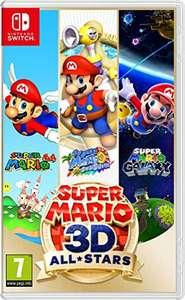 Super Mario 3D All-Stars - Nintendo Switch (formato físico). Mínimo histórico en Amazon.
