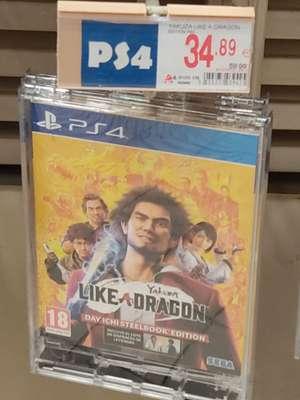 Yakuza Like a Dragon Day Ichi Edition PS4 - 34,89€ - Alcampo Coia (Vigo)
