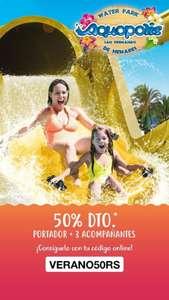 50% De descuento en el Aquopolis de San Fernando