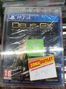 Deus Ex: Mankind divided edition day one PS4 (Mediamarkt Albacete)