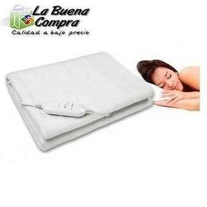 Calienta camas individual 150X80cm con dos niveles de temp. 60w