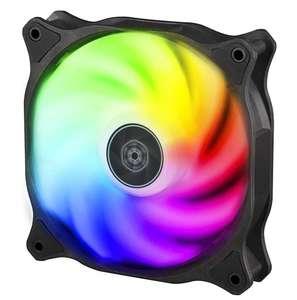 Ventilador de refrigeración para Carcasa de Ordenador Blazer 120 mm, hidrorodamiento, RGB