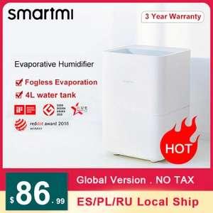 SMARTMI humidificador de aire para el hogar, difusor de Aroma 4 Litros - Desde España