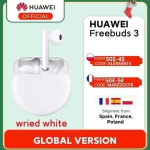 Huawei Freebuds 3 Blancos - Envío desde España