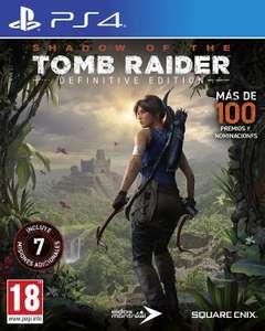 Shadow of The Tomb Raider Definitive Edition para PS4 (incluye todos los DLCs). En Enero gratis con el Plus (sin DLCs)