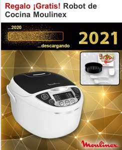 ROBOT de cocina Moulinex DE REGALO gastando 99€ en Kalamazoo