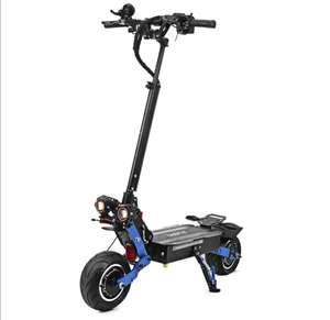 LAOTIE ES19 Amortiguador de dirección 60V 38.4Ah Batería 6000W Scooter eléctrico