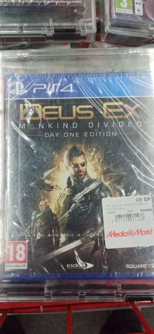 Media Markt: Deus Ex Mankind Divided Day One Edition