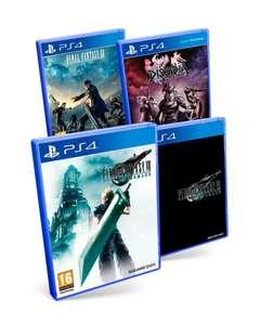 Pack final fantasy PS4: Final Fantasy VII Remake + Dissidia: Final Fantasy NT + Final Fantasy XV