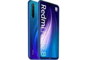 "Xiaomi Redmi Note 8, Azul, 64GB, 4GB RAM, 6.3"" Full HD+, Qualcomm® Snapdragon™ 665, 4000 mAh, Android"