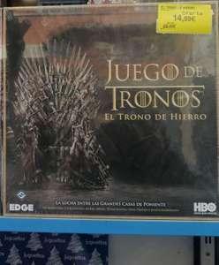 Juego de Tronos. El trono de hierro. Juego de mesa.