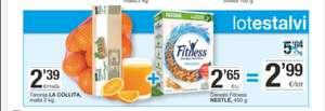 2kg de naranjas + cereales fitness 450g. En supermercados Bonpreu y Esclat.