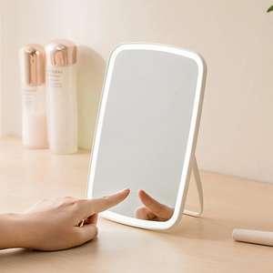 Espejo de maquillaje con luz LED ajustable