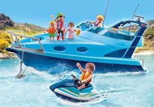 PLAYMOBIL Funpark Yate con moto de agua