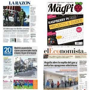 GRATIS :: Prensa (El Economista, La Razón, 20 minutos y otras), Revistas