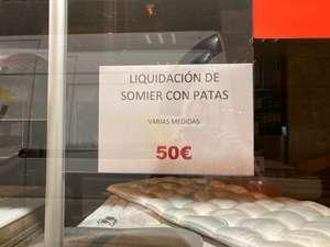Somier por 50€