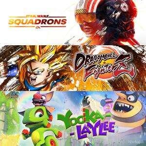Juega GRATIS STAR WARS™: Squadrons, DRAGON BALL FighterZ y Yooka-Laylee #XBOX
