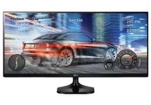 """Monitor - LG 25UM58-P , 25"""", 2560x1080, 5ms, IPS, 21:9, Negro"""