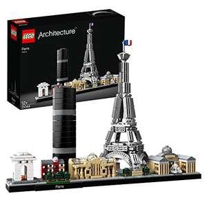 LEGO Architecture - París, maqueta decorativa de ciudad para construir y decorar