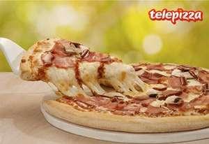 Telepizza mediana 4€ para clientes MAPFRE para recoger en tienda