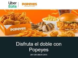 2x1 en Popeyes - Louisiana Kitchen