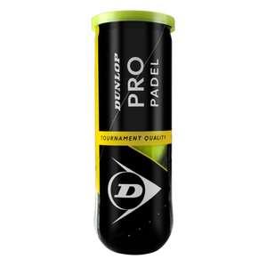 3x2 Bote de 3 pelotas de pádel Pro Dunlop