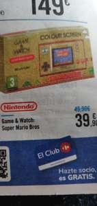 Carrefour Nintendo Game & Watch. En tienda.