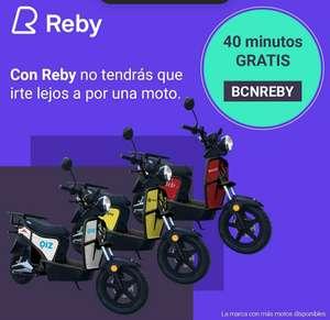 40 Minutos en moto gratis con Reby