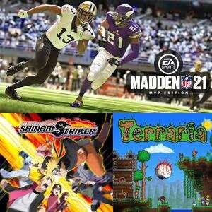 Juega GRATIS Terraria, Naruto to Boruto y Madden NFL 21: Xbox One & Xbox Series X S