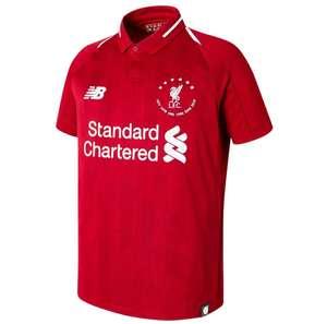 """Camiseta oficial de la primera equipación del Liverpool Colección Especial """"Six Times"""" de Campeones de la Champions League"""