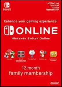 Nintendo switch online familiar